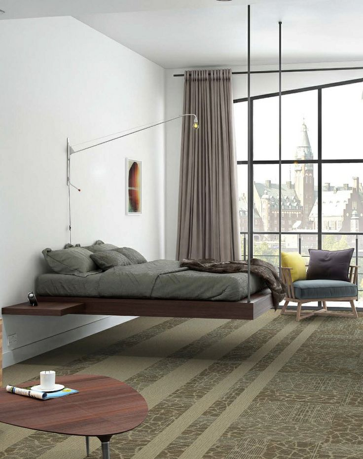 Interface Hospitality made European debut at Sleep 2013 #bedroom. Suspended  BedFloating Bed.