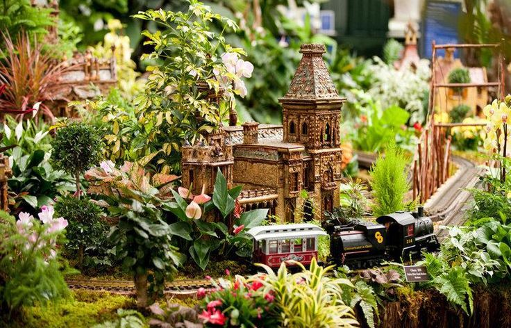New York Botanical Garden Holiday Train Show
