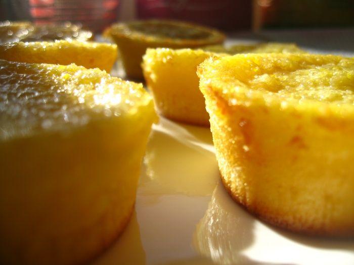 Quejadas de laranja: Portuguese orange tarts