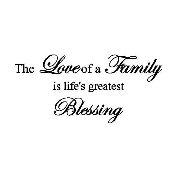 Family Wall Quotes found on Polyvore