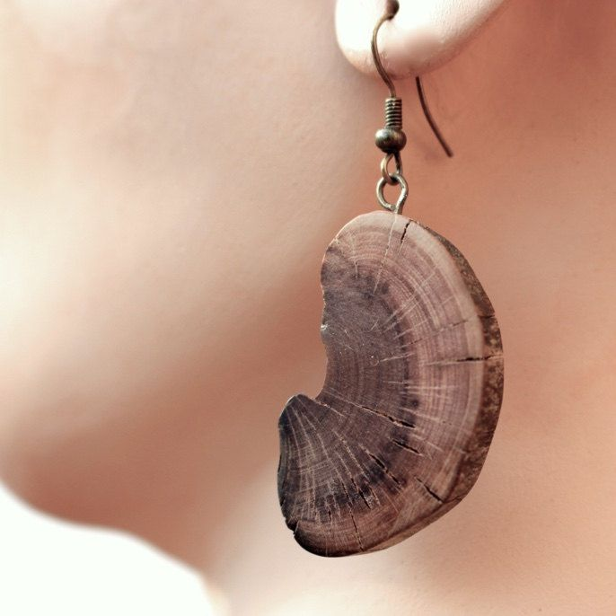 Hollywood Mountain Earrings (186) by RayStudio on Etsy