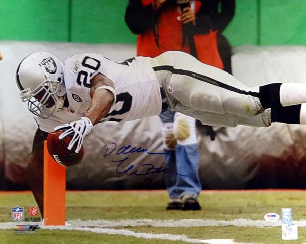 Darren McFadden Autographed 16x20 Photo Oakland Raiders PSA/DNA