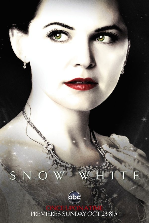 Snow White played by Ginnifer Goodwin of ABC's Once Upon A Time
