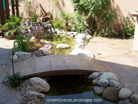 43 best images about landscape on pinterest raised beds for Concrete fish pond construction and design