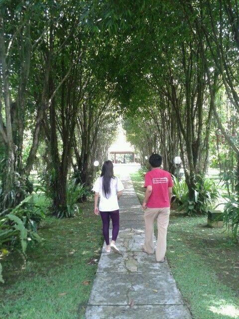 Kinasih botanical garden