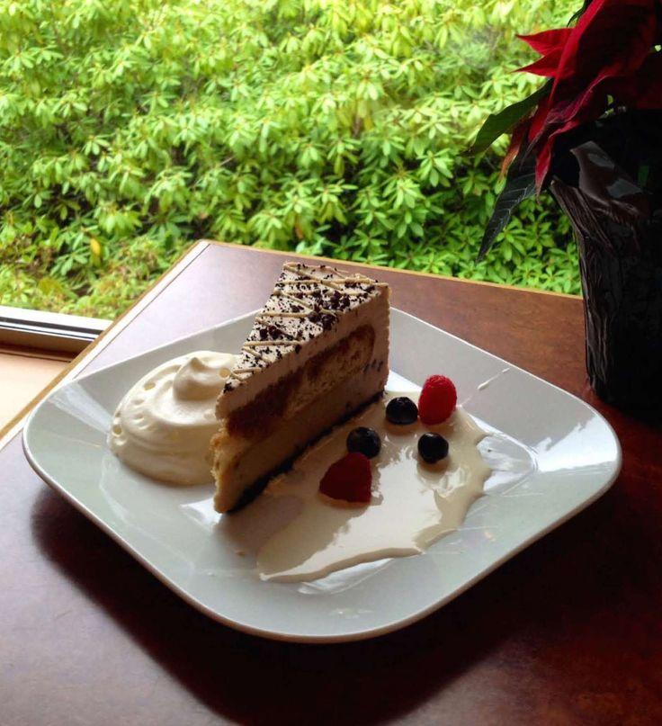 Tuscan Tiramisu is on the dessert menu at the Westward Ho!.