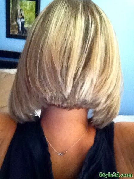 haircut short in back long in front medium hair styles back view of haircuts for 9909 | 5b81947186c99261aca26a35a76e19c3