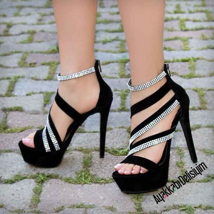 Black Heels #shoes