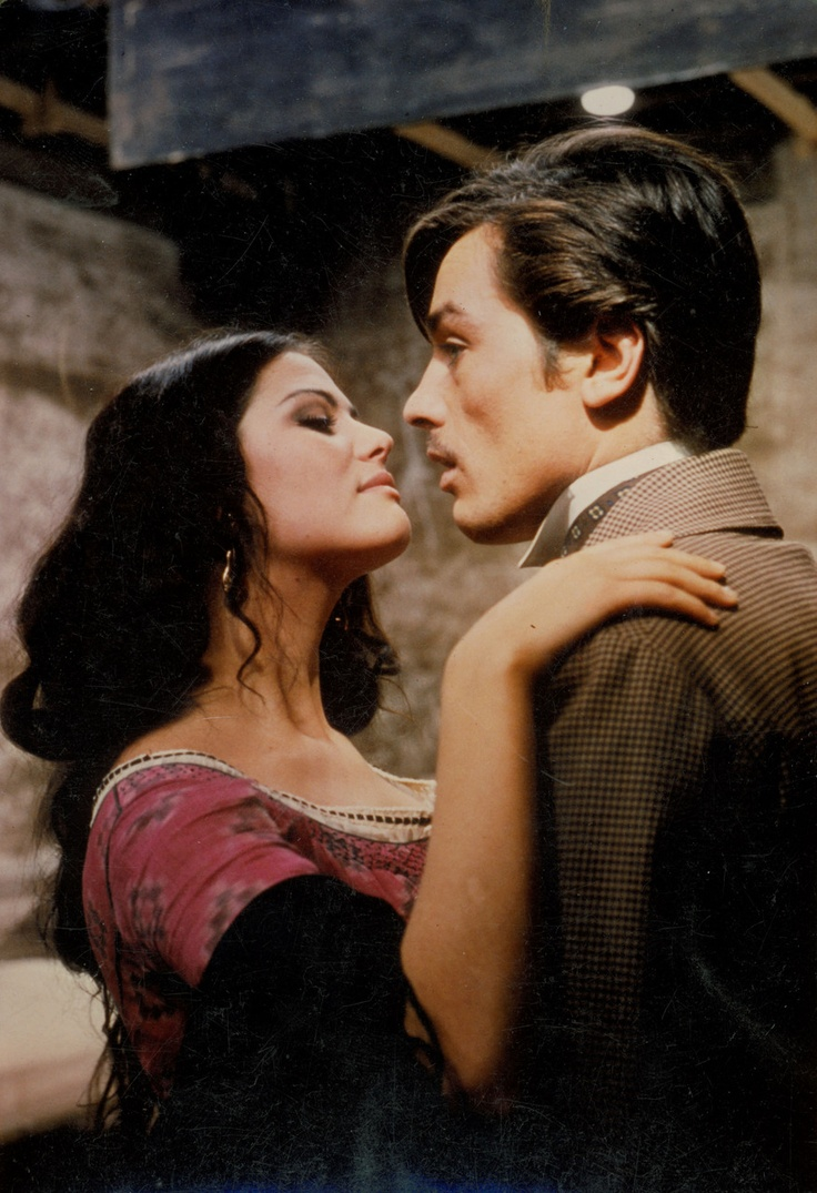 Claudia Cardinale and Alain Delon in 'The Leopard' by Luchino Visconti, 1963