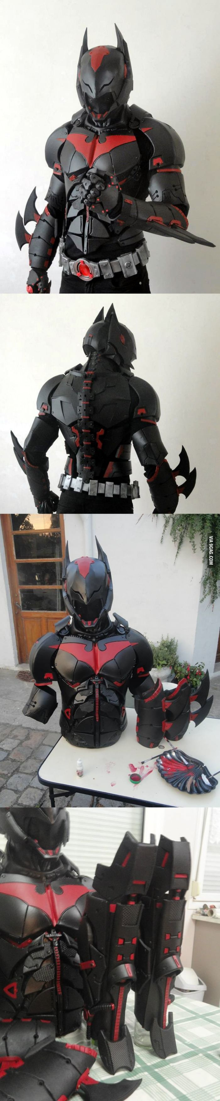 Beyond Arkham I WANT THIS SUIT!