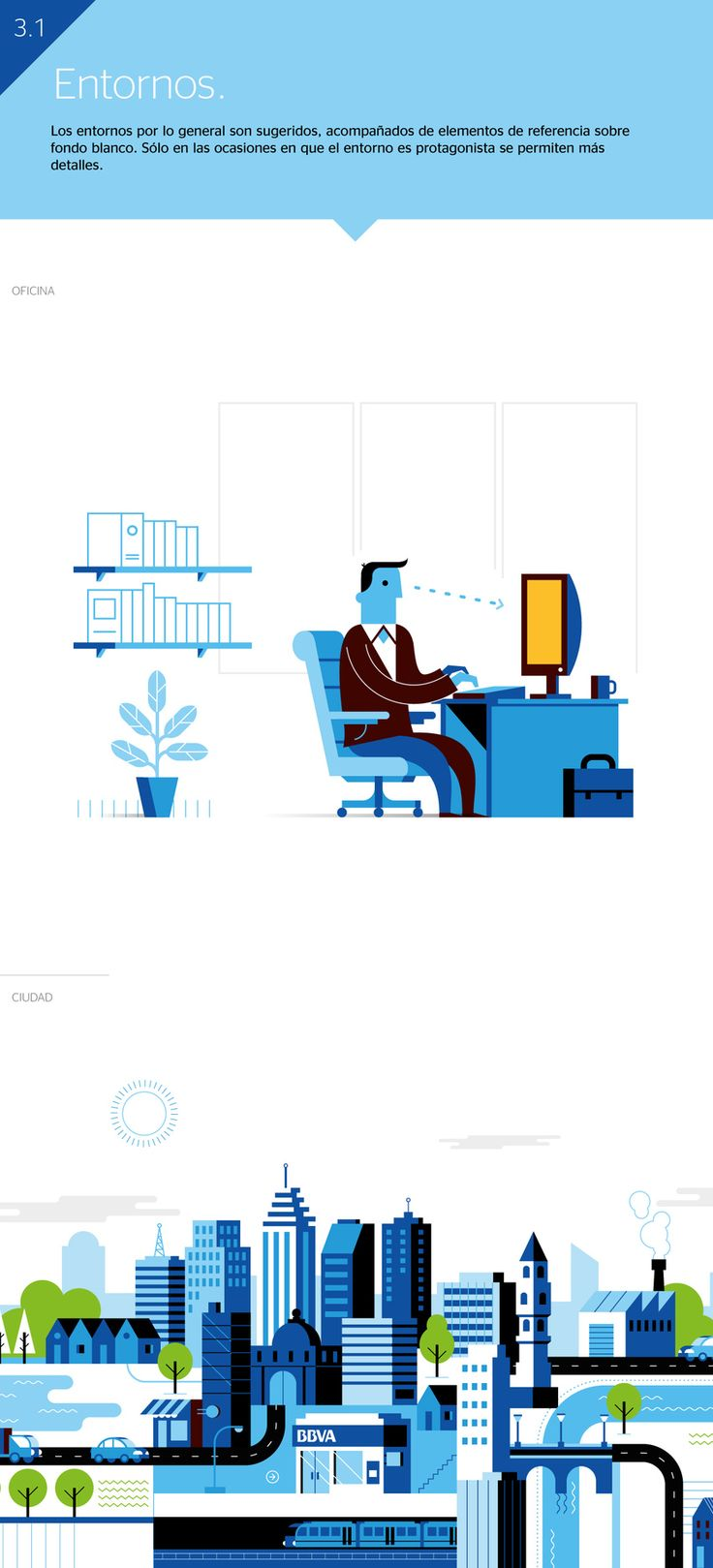 BBVA Ilustración Corporativa. 7