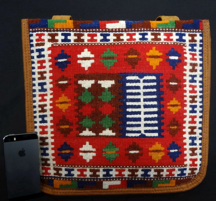 HANDMADE KILIM BAG, colorful  naturalL Wool by persiansouvenir on Etsy