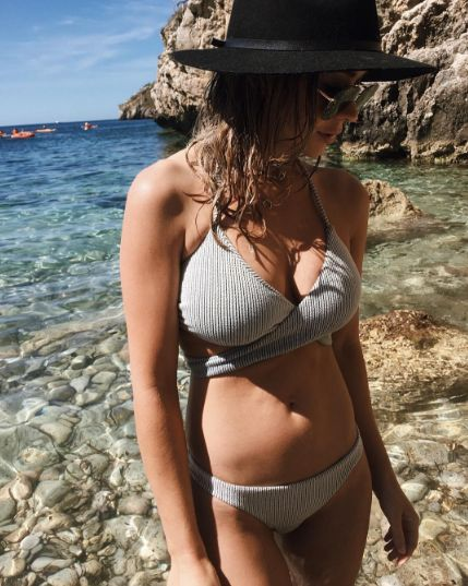 @lisa_m_hyde in our Textured Stripe Triangle Wrap Bikini  #desertmuse #suboostyle #ss16 #trianglebikini #bikini #wrapdetail #halter #texture #beach #summertime #twopiece #swim #swimsuit #beachwear #summer #ocean #island #getaway #holiday #vacation