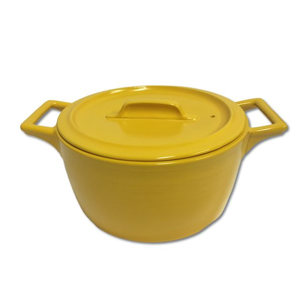 These nifty casserole pots can be used on gas, electrical and induction stove tops, as well as in the oven and microwave. The bright colours also bring some liv