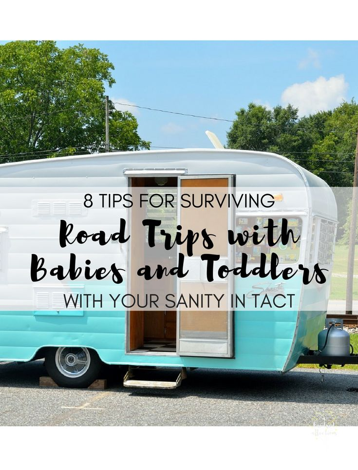 Inside:Taking a road trip with toddlers and babies is intimidating, but it can be done.  Practical tips and advice for surviving a road trip with the little ones without losing your sanity!  When my husband and I took our first road trip with our twin infants, 7 months old at the time, we …