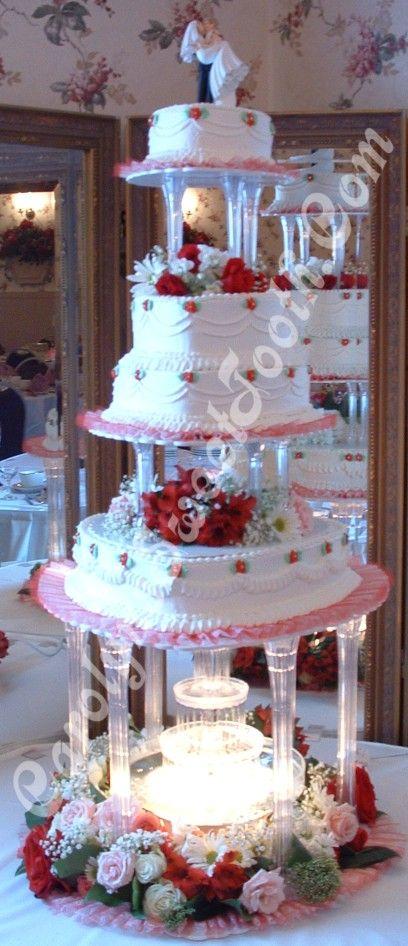 3 tier wedding cakes with pillars | with pillars top 3 tier wedding cake with pillars bottom