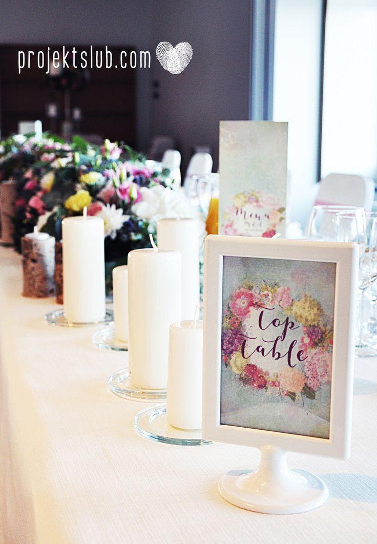 Papeteria ślubna z kolekcji BOHO WIANEK na rustykalne i romantyczne wesele z motywami kwiatowymi od Projekt Ślub Więcej na projektslub.com