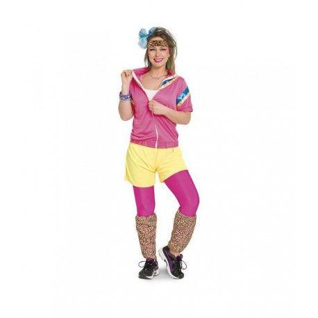 Fouter dan fout gekleed naar elke party. Met dit jaren 80 trainingspak sla je de plank goed mis.