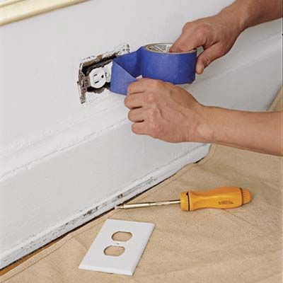 The secret to a great paint job? It's all in the prep. We've got your room checklist here.   Photo: Kolin Smith   thisoldhouse.com