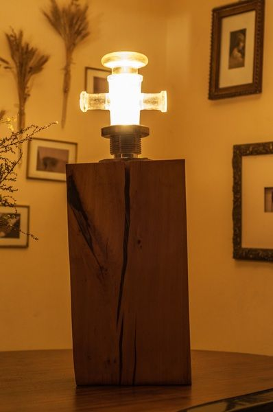 Rozświetlona postać w Art Wood Kawkowo na DaWanda.com