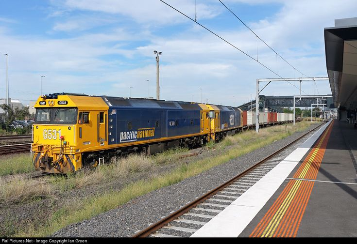 RailPictures.Net Photo: G531 Pacific National G class at West Footscray, Melbourne, Australia by Ian Green