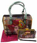 Nicole Lee Vicky Thinks Fashion Boston Bag Handbag Wallet VIC11686 Purse Bling
