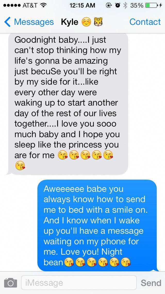 Text sweet messages goodnight 98 Romantic