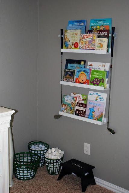 Golf themed nursery