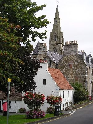 The historic village of Falkland, Fife: http://www.europealacarte.co.uk/scotland/fife