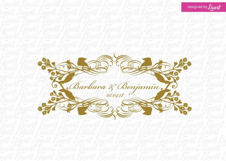 vintage wedding monogram-wedding crest-custom wedding monogram-signo-monograma-monograma de la boda-signo de la boda-wedding logo-vintage by Linvit on Etsy