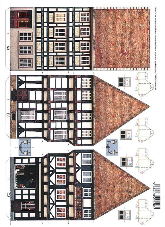 Let's Make an Old Town!—Set 2 - PaperModelKiosk.com