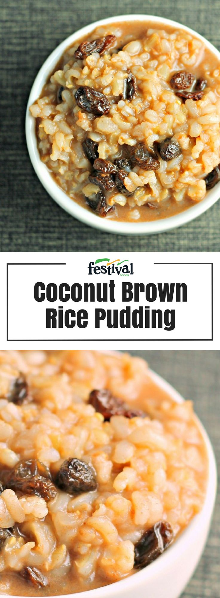 Coconut Brown Rice Pudding   Recipe   Fruit dishes, Brown ...
