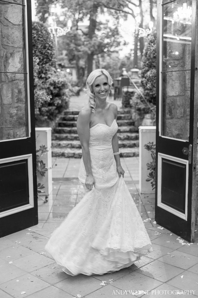 Every #bride should have a #wedding photo like this! #realbride Natasha Otten twirling and having fun in your dream #weddingdress from from Bride&co's Oleg Cassini range. #wedding #dress #olegcassini #brideandco #brideandcosa #southafrica ♥