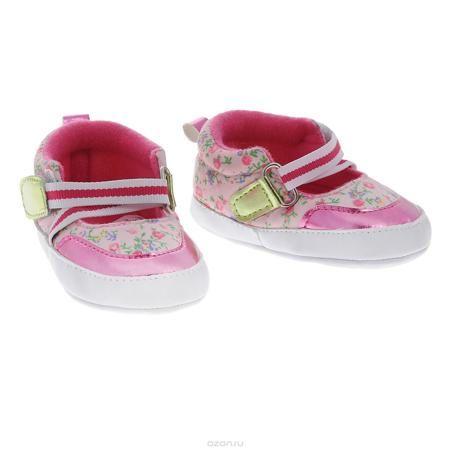 Luvable Friends Пинетки  — 880р. ------------------------------- Оригинальные детские пинетки для девочки Luvable Friends Фанни, стилизованные под туфельки - это легкая и удобная обувь для малышей. Удобная эластичная застежка на липучке, надежно фиксирующая пинетки на ножке малышки, мягкие, не сдавливающие ножку материалы делают модель практичной и популярной. Стопа оформлена прорезиненным рельефным рисунком, благодаря которому ребенок не будет скользить. Такие пинетки - отличное решение для…
