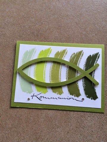 Alle guten Dinge sind drei. Hier ist eine weitere Karten, die ich für meine Bekannte gemacht habe. Der Fisch ist aus dem Silstore und wurde...