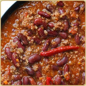 Low-Fat Buffalo Chili. I would definitely enjoy this! Information and how to on Buffalo Meat, Ostrich Meat, Gator Meat, Elk Meat, Wild Boar Meat, American Wagyu Beef, Berkshire Pork and others. Visit us at FreeRangeMeat.us