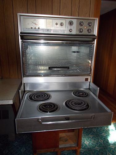 vintage 1970s cooktop