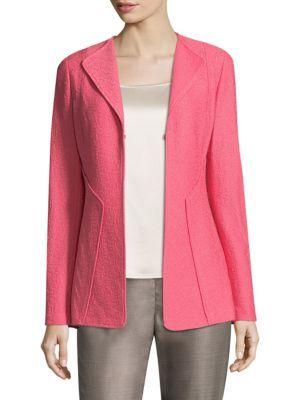 ST. JOHN Hannah Knit Wool-Blend Jacket. #st.john #cloth #