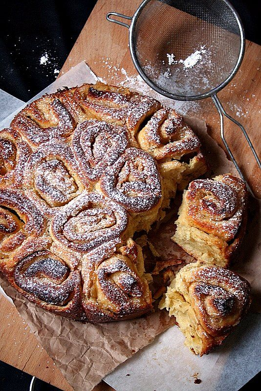 This was good - I might try using the dough for cinnamon rolls sometime.