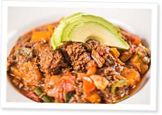 Nick's Zone: Chipotle Bison Chili With Butternut Squash by Nick Massie and Jesse Kahle - CrossFit Journal