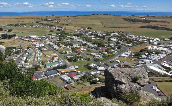 View over Stanley from The Nut. Article and photo for Think #Tasmania.