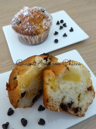 Muffin alle mele con cioccolato rende questo mio esperimento tutto da provare, molto piacevole per il palato ingredienti: 1 mela 40 gr. di cioccolato 250 go