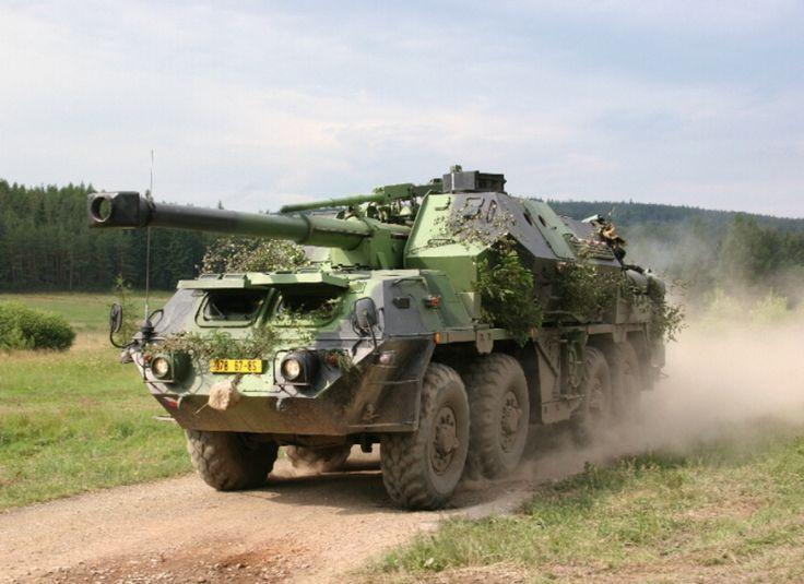 TATRA T813 DANA launcher - Czech