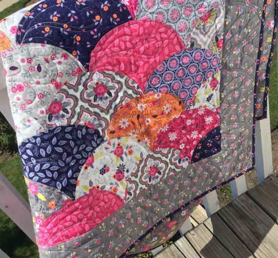 Clambake Clamshell Quilt Kit by SewModDesigns on Etsy