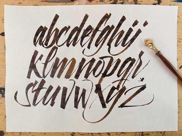 Calligrafia bambini ~ Oltre fantastiche idee su stili di calligrafia su