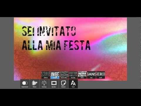 Come fare Design Gratis  http://www.miofotolibro.it/come-fare/grafica-biglietti-inviti.php