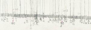 """""""Vermessung"""" – Zweiter Teil der dreiteiligen Ausstellungsreihe """"Naturwissenschaften und Kunst"""" mit den Künstlerinnen Pia Linz, Kati Gausmann und Tinka Bechert."""