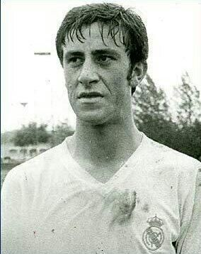 Vicente del Bosque while playing for Real Madrid  #RealMadrid #Spain #manager