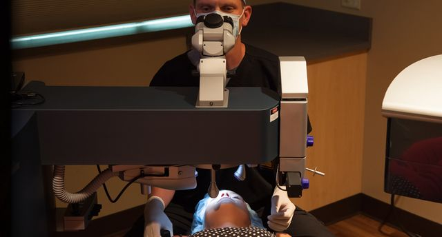 On Wednesday, April 26, Lance Kugler, MD will be the first surgeon in Nebraska or Iowa to perform SMILE using the Zeiss Visumax femtosecond laser. https://lasikomaha.com/kugler-vision-introduces-smile-laser-vision-correction-nebraska/