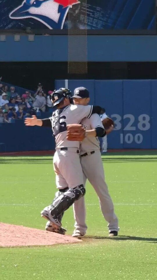 John Ryan Murphy & Masahiro Tanaka after complete game in Toronto, huge win 8/15/15